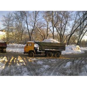 Автовивезення снігу самоскидом КамАЗ 10 тонн