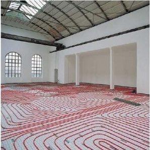 Монтаж теплої підлоги водяної