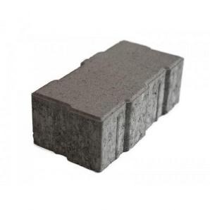 Тротуарная плитка UNIGRAN Джокер серая 80х248х124 мм