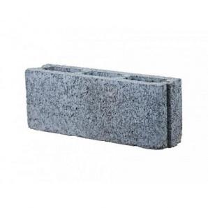 Блок перегородочный бетонный пустотный М-75 500х115х190 мм