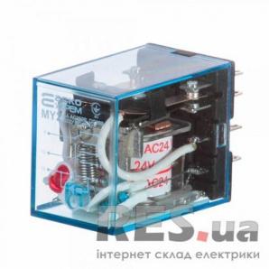 Реле промежуточное электромагнитное MY3 (AC24) АскоУкрем