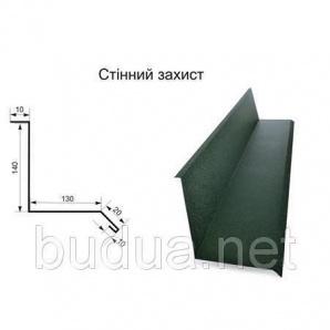 Стеновая защита тип 1 оцинкованная 0,4