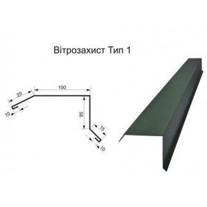 Ветрозащита тип 1 полиэстер эконом 0,45