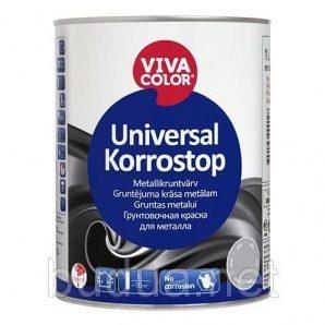Краска Vivacolor Universal Korrostop красная, 1 л