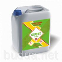 Феромал Грунт 15 грунтовка силикатный, 5 кг