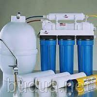Монтаж фильтра очистки воды (легкая система)