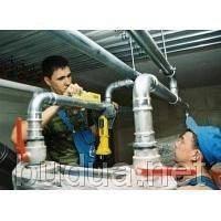 Демонтаж труб стальных х/г воды
