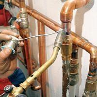 Прокладка медных труб отопления
