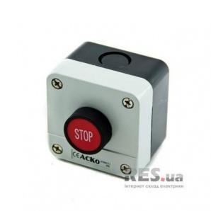 Пост управления XAL-B114 1NC 1-местный Стоп красная кнопка АскоУкрем