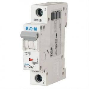 Автоматический выключатель PL7-C16/1 16А 1-полюсный Eaton