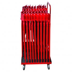 Тележка для стула AMF Ибица красная