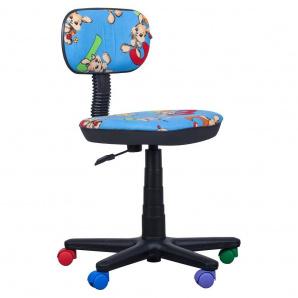 Кресло детское AMF Бамбо Цифры синий