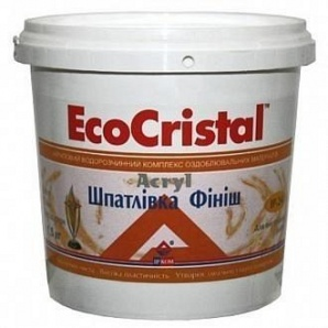 Шпаклевка Eco Cristal финишная готовая 15 кг