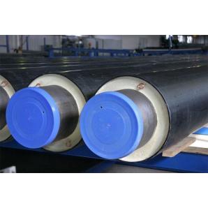 Стальная теплоизолированная труба в ПЭ оболочке 920/1100 мм