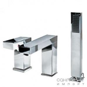 Врізний змішувач для ванни Welle Christian хM28024D-1320B