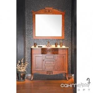 Комплект меблів для ванної кімнати Godi TG-05 канадський дуб, коричневий