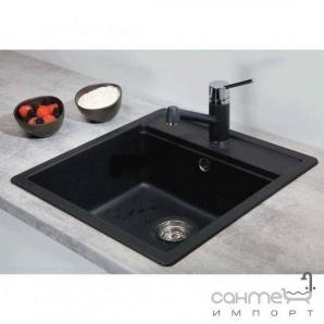 Гранітна кухонна мийка Schock Cristalite Nemo N100 S 58 sabbia