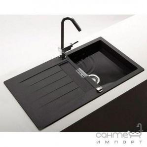Гранітна кухонна мийка Schock Cristalite Primus D100 оборотна 10 onyх