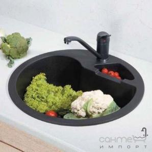 Гранітна кухонна мийка Schock Cristalite Classic R100 07 alpina
