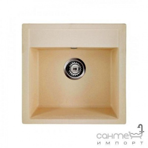 Гранітна кухонна мийка Granado Merida white