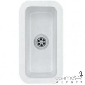 Керамічна кухонна мийка SystemCeram Zeta 14 U Nero-68