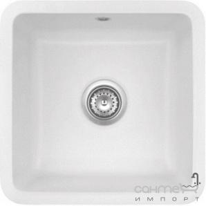 Керамічна кухонна мийка SystemCeram Zeta 40 U Alu-76
