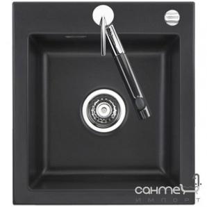 Керамічна кухонна мийка SystemCeram Mera 46 A Noblese-16