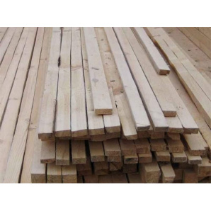 Дерев'яні лати для забору 50х50 мм