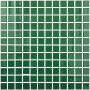 Мозаїка скляна Vidrepur DARK GREEN 602 300х300 мм
