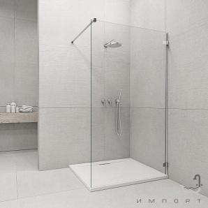 Фронтальна частина душової кабіни Radaway Euphoria Walk-in V W1 90 383111-01-01 (хром/прозорий)
