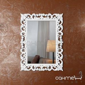 Декоративне дзеркало для ванної кімнати Marsan Angelique 750х1000 чорний глянець