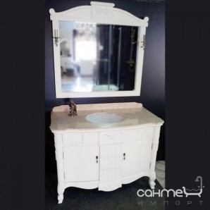 Комплект меблів для ванної кімнати Godi LY-01 AW (слонова кістка матова)
