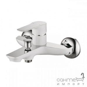 Змішувач для ванни Welle Gerda WEV23461KхH21166-HN Хром