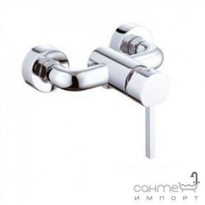 Настінний змішувач для душа, з душовим комплектом Clever Platinum Skorpio 96765 Хром
