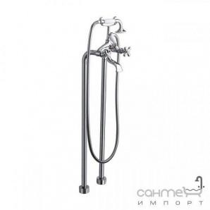 Змішувач підлоговий для ванни La Torre Leonardo 23029 Хром