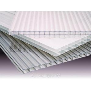 Стільниковий полікарбонат ТМ SOTON 4х2100х6000 мм прозорий