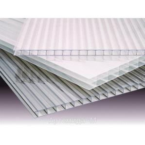 Стільниковий полікарбонат ТМ SOTON 10х2100х6000 мм прозорий