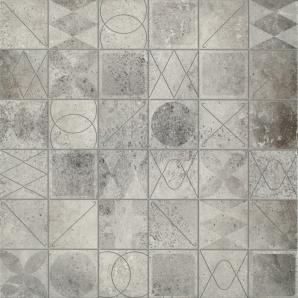 Керамічна плитка Cersanit BRISTOL СІРИЙ МОЗАЇКА 42x42 см
