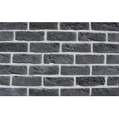 Фасадная плитка Loft Brick Манхетен 20 Черный с солью 210x65 мм