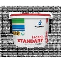 Краска фасадная Kolorit Facade Standart LA 9 л