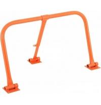 Барьер парковочный ПромТехноКом БП-800 480х870х280 мм оранжевый