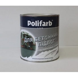 Краска Polifarb АКРИЛБЕТ 3,5 кг серая