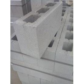Шлакоблок перегородочный 390х120х190 мм