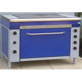 Плита електрична промислова з жарочною шафою ЕПК-2Ш 950x600x850 мм
