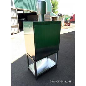 Піч на деревному вугіллі Ефес Хоспер ПДУ-1000 1000х650х870 мм