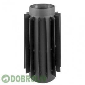 Радіатор димохідна Труба Darco 130 діаметр сталь 2,0 мм