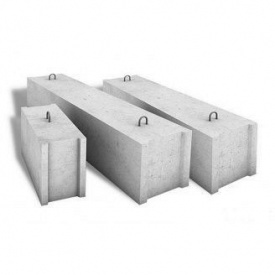 Фундаментний блок Завод ЗБК 1180х600х580 мм