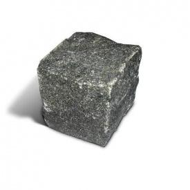 Бруківка гранітна колота 5х5х5 см (Габро)