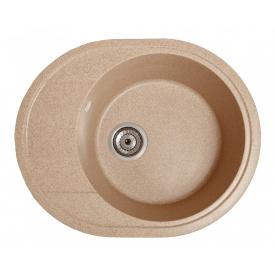 Кухонная мойка Galati Voce гранит 58х47х21,7 см Piesok (301)