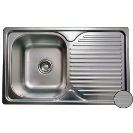 Кухонная мойка Galati Constanta Nova нержавеющая сталь 78х48х18 см Textura
